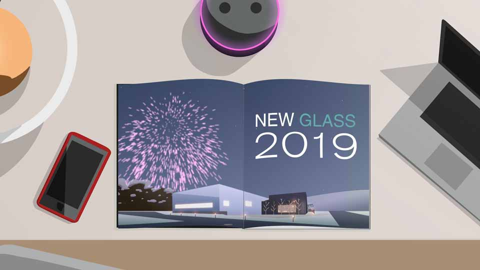 Open Lightbox to view 'Corning Museum of Glass - New Year, New Glass' video